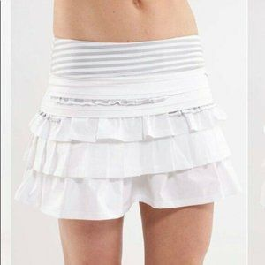 Lululemon Athletica Run Back On Track Skirt 6